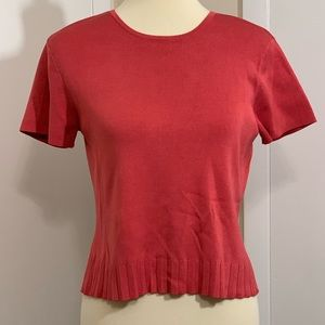 Talbots Short Sleeve Top